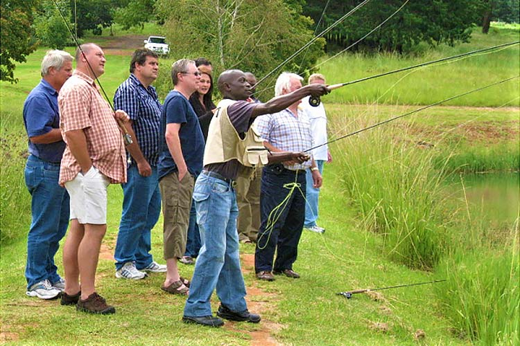 Team Building Fly Fishing Clinic