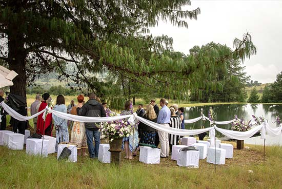 Weddings in Dullstroom at Stonecutters